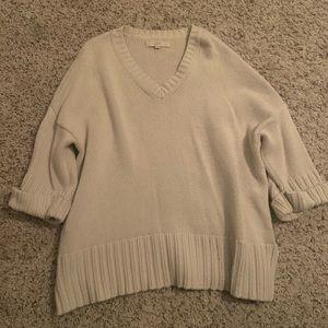 LOFT Chunky Knit Sweater. Size Medium.